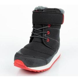 Buty, śniegowce Reebok Snow Prime Jr AR2710 czarne niebieskie 1