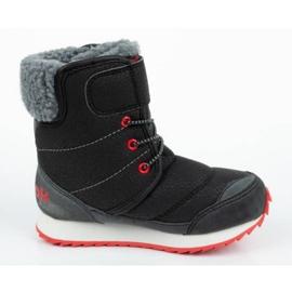 Buty, śniegowce Reebok Snow Prime Jr AR2710 czarne niebieskie 3