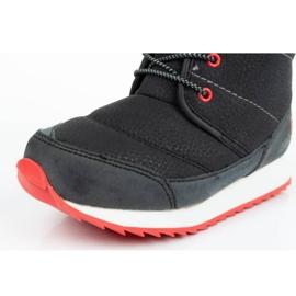 Buty, śniegowce Reebok Snow Prime Jr AR2710 czarne niebieskie 5