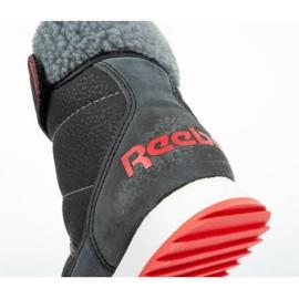 Buty, śniegowce Reebok Snow Prime Jr AR2710 czarne niebieskie 6