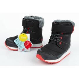 Buty, śniegowce Reebok Snow Prime Jr AR2710 czarne niebieskie 7