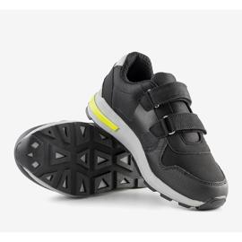 Big Star Czarne dziecięce sneakersy sportowe Astrid 2