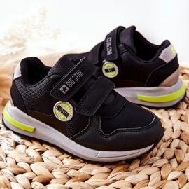 Dziecięce Buty Sportowe Big Star II374078 Czarne 4