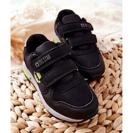 Dziecięce Buty Sportowe Big Star II374078 Czarne 1