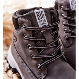 Dziecięce Buty Trekkingowe Big Star II374102 Szary szare 1