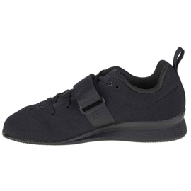 Buty Adidas Weightlifting Ii Jr F99816 czarne granatowe 1