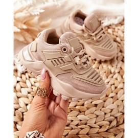FR1 Dziecięce Sneakersy Beżowe Freak Out beżowy 7