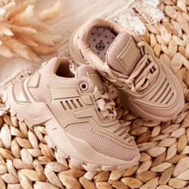 FR1 Dziecięce Sneakersy Beżowe Freak Out beżowy 4