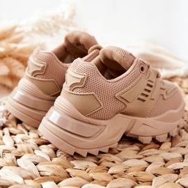 FR1 Dziecięce Sneakersy Beżowe Freak Out beżowy 5