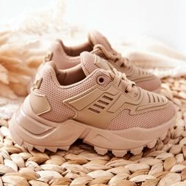 FR1 Dziecięce Sneakersy Beżowe Freak Out beżowy 6
