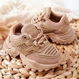 FR1 Dziecięce Sneakersy Beżowe Freak Out beżowy 8