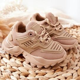 FR1 Dziecięce Sneakersy Beżowe Freak Out beżowy 9
