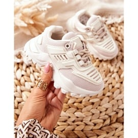 FR1 Dziecięce Sneakersy Jasno Beżowe Freak Out beżowy 5