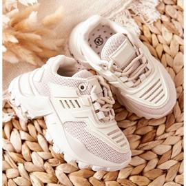FR1 Dziecięce Sneakersy Jasno Beżowe Freak Out beżowy 2