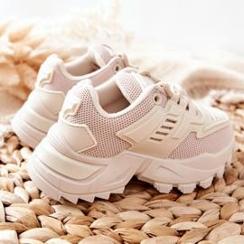 FR1 Dziecięce Sneakersy Jasno Beżowe Freak Out beżowy 3