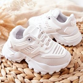 FR1 Dziecięce Sneakersy Białe Freak Out 4