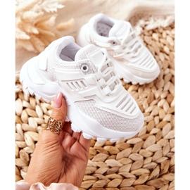FR1 Dziecięce Sneakersy Białe Freak Out 3