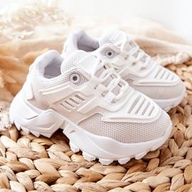 FR1 Dziecięce Sneakersy Białe Freak Out 5