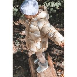 FRROCK Ocieplane Dziecięce Botki Śniegowce Z Futerkiem Srebrne JellyBeans srebrny 8