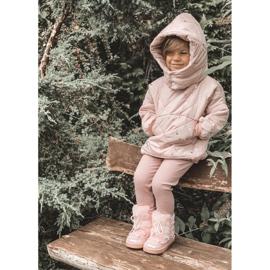 FRROCK Dziecięce Botki Śniegowce Z Futerkiem Pink Minnie Mouse różowe srebrny 5