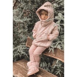 FRROCK Dziecięce Botki Śniegowce Z Futerkiem Pink Minnie Mouse różowe srebrny 6