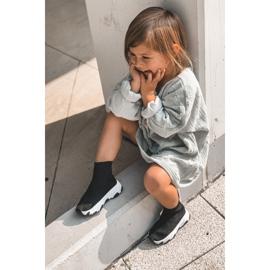 FR1 Dziecięce Młodzieżowe Obuwie Sportowe Czarne Callobe 11
