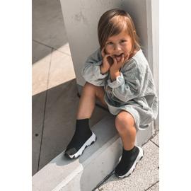 FR1 Dziecięce Młodzieżowe Obuwie Sportowe Czarne Callobe 12