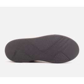 Marco Shoes Lekkie sneakersy z naturalnej skóry beżowy 4