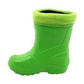 Befado dziecięce kalosze 162P105 zielone 1