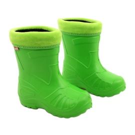 Befado dziecięce kalosze 162P105 zielone 5