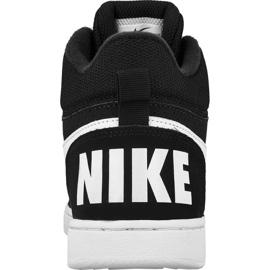 Buty Nike Sportswear Court Borough Mid Jr 839977-004 czarne 2