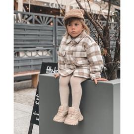 FR1 Dziecięce Sneakersy Beżowe Freak Out beżowy 10