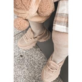 FR1 Dziecięce Sneakersy Beżowe Freak Out beżowy 11