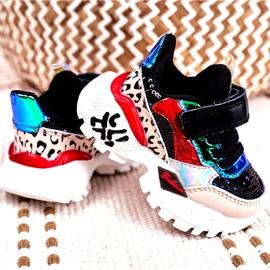 FRROCK Sportowe Buty Dziecięce Na Rzepy Czarne Be Happy beżowy czerwone niebieskie 2