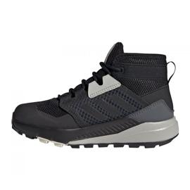Buty adidas Terrex Trailmaker Mid Rain.Rdy Jr FW9322 czarne 1