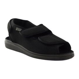 Befado 733m007 sandały zdrowotne Dr.Orto czarne 1