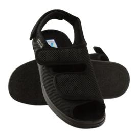 Befado 733m007 sandały zdrowotne Dr.Orto czarne 3