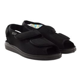 Befado 733m007 sandały zdrowotne Dr.Orto czarne 4