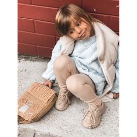 FR1 Dziecięce Sneakersy Beżowe Freak Out beżowy 1