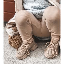 FR1 Dziecięce Sneakersy Beżowe Freak Out beżowy 3