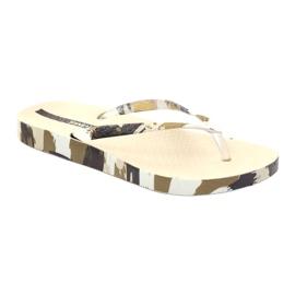 Klapki buty damskie japonki Ipanema 80692 moro wielokolorowe 1