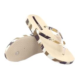 Klapki buty damskie japonki Ipanema 80692 moro wielokolorowe 3