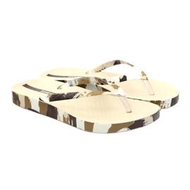 Klapki buty damskie japonki Ipanema 80692 moro wielokolorowe 4