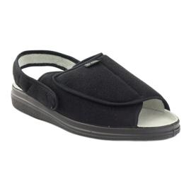 Sandały klapki męskie Dr.Orto Befado czarne 1