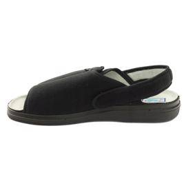 Sandały klapki męskie Dr.Orto Befado czarne 2