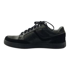 Riko buty męskie półbuty casual 828 czarne 2
