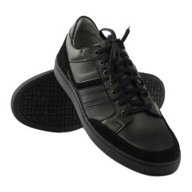 Riko buty męskie półbuty casual 828 czarne 3