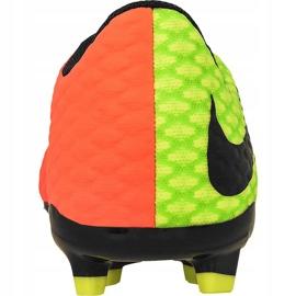 Buty piłkarskie Nike Hypervenom Phelon Iii zielone zielony, pomarańczowy 1